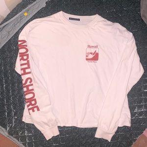 Brandy Melville north shore Hawaii shirt O/S